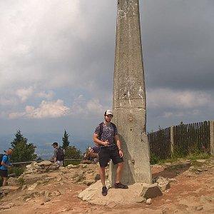 Jack Skurello na vrcholu Lysá hora (31.7.2018 13:07)