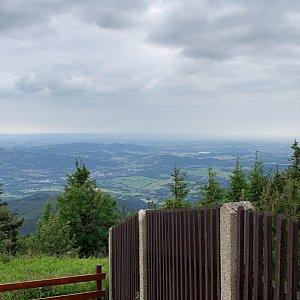 Jenda na vrcholu Lysá hora (8.7.2020 15:51)
