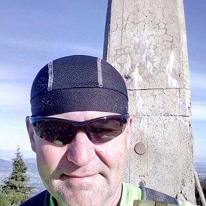 Li Be na vrcholu Lysá hora (14.7.2020 7:32)