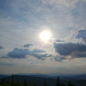 Petra Kosarkova na vrcholu Lysá hora (24.7.2020 7:36)