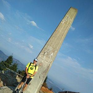 Jiří Sumbal na vrcholu Lysá hora (18.8.2018 8:12)