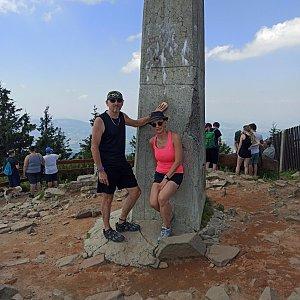Pavlína Sýkorová na vrcholu Lysá hora (1.8.2020 13:58)
