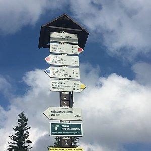 ZdenekCahlik na vrcholu Lysá hora (23.6.2018)