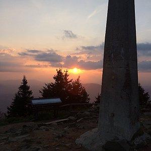 Ivča na vrcholu Lysá hora (5.9.2018 19:04)