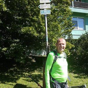 MUDr.Svatopluk Kunčar na vrcholu Lysá hora (3.9.2020 13:52)