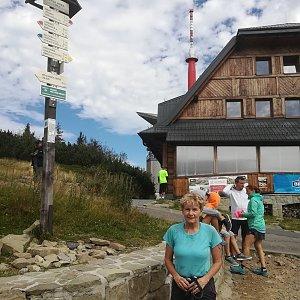 MUDr.Svatopluk Kunčar na vrcholu Lysá hora (5.9.2020 12:25)
