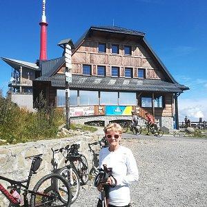 MUDr.Svatopluk Kunčar na vrcholu Lysá hora (8.9.2020 12:42)