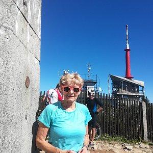 MUDr.Svatopluk Kunčar na vrcholu Lysá hora (9.9.2020 12:23)