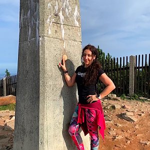 Pavlaja na vrcholu Lysá hora (20.9.2020 9:31)