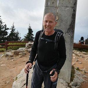 MUDr.Svatopluk Kunčar na vrcholu Lysá hora (24.9.2020 15:59)