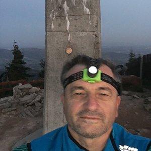 Jarek na vrcholu Lysá hora (22.9.2020 6:13)