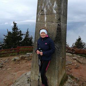 MUDr.Svatopluk Kunčar na vrcholu Lysá hora (28.9.2020 10:34)
