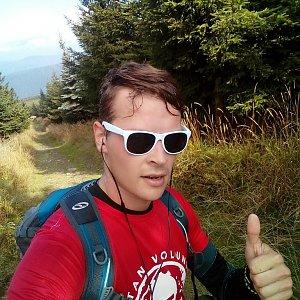 Ondřej Sládek na vrcholu Lysá hora (15.9.2018 14:49)