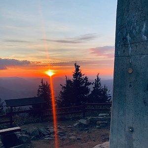 Ivča na vrcholu Lysá hora (8.10.2020 18:09)