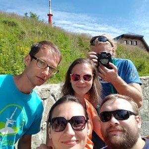 Dobros na vrcholu Lysá hora (31.7.2020 9:50)