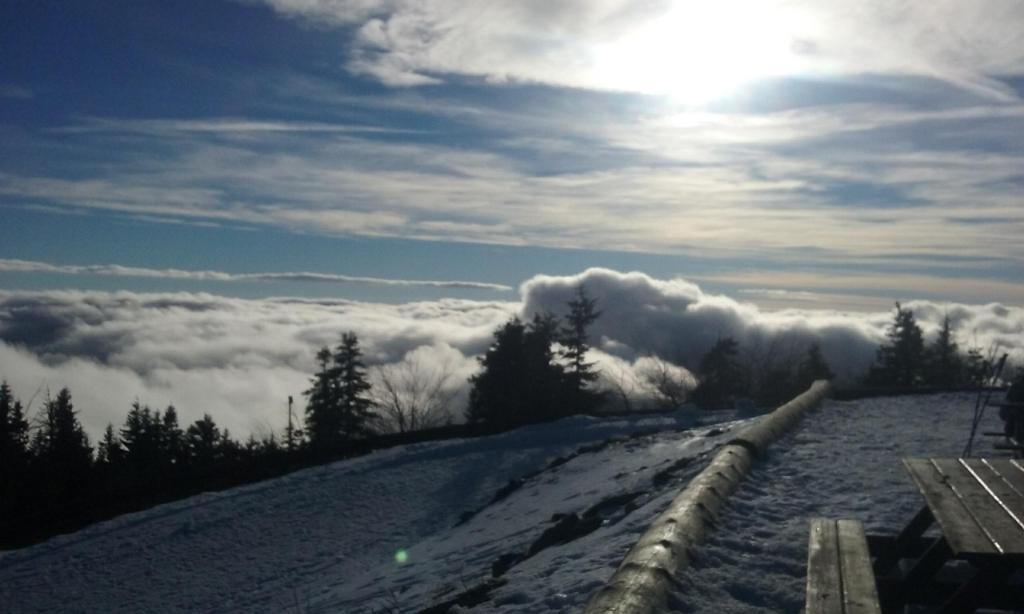 Linďák na vrcholu Lysá hora (6.1.2018 13:00)