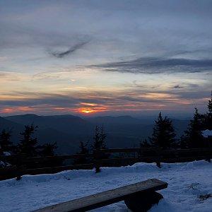 Ivča na vrcholu Lysá hora (21.10.2020 17:44)