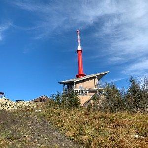 Stanislav Jára na vrcholu Lysá hora (25.10.2020 9:00)