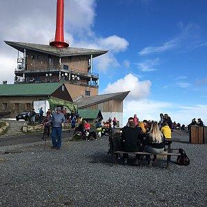 Jarek na vrcholu Lysá hora (25.10.2020 11:07)