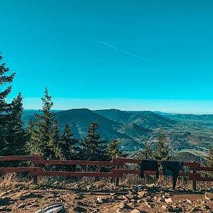 Pavlaja na vrcholu Lysá hora (7.11.2020 9:36)