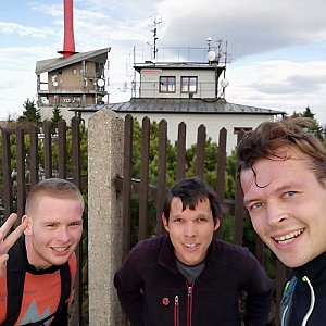 Ondřej Sládek na vrcholu Lysá hora (16.10.2018 15:54)