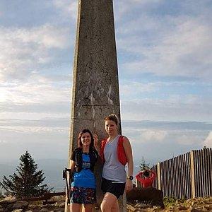 Siuška na vrcholu Lysá hora (10.10.2020 19:00)