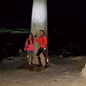 Siuška na vrcholu Lysá hora (20.10.2020 19:00)