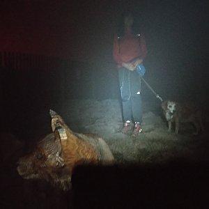 Jana Mayerová na vrcholu Lysá hora (19.10.2018 19:04)