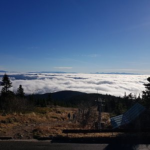 Johnny na vrcholu Lysá hora (15.11.2020 9:30)