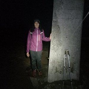 Jana Mayerová na vrcholu Lysá hora (23.10.2018 18:17)