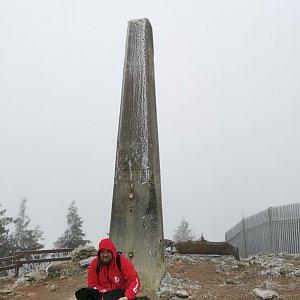 Petr Šrámek na vrcholu Lysá hora (12.11.2020 12:00)