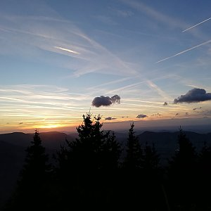 Ondřej Sládek na vrcholu Lysá hora (31.10.2018 16:24)