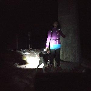 Jana Mayerová na vrcholu Lysá hora (30.10.2018 18:15)