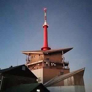 Petra Kosarkova na vrcholu Lysá hora (24.11.2020 16:34)