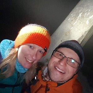 Michaela Karásková na vrcholu Lysá hora (28.11.2020 20:41)