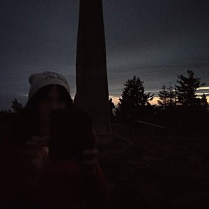 Joch a Dingo na vrcholu Lysá hora (19.11.2020 16:41)
