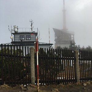 Jarek na vrcholu Lysá hora (6.12.2020 8:41)