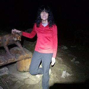 Jana Mayerová na vrcholu Lysá hora (25.11.2018 17:51)