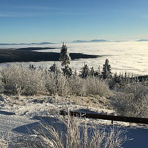 Jarek na vrcholu Lysá hora (13.12.2020 8:55)
