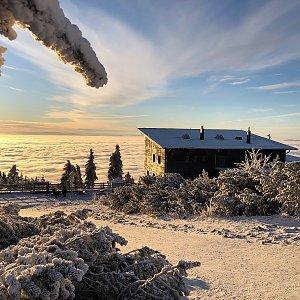 RŠind na vrcholu Lysá hora (13.12.2020 10:50)
