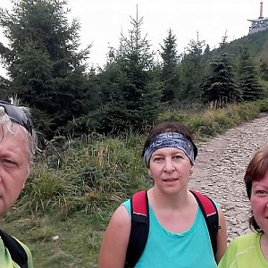 Pepino na vrcholu Lysá hora (26.8.2017 10:30)