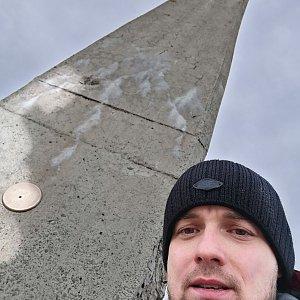 Jan Zamarski na vrcholu Lysá hora (16.12.2020 13:02)