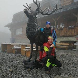 Petra Kosarkova na vrcholu Lysá hora (20.12.2020 14:48)
