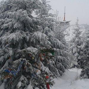 ŠenovKK na vrcholu Lysá hora (18.12.2018 14:52)