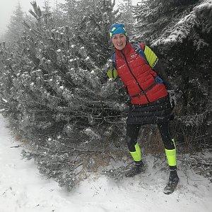 Petra Kosarkova na vrcholu Lysá hora (25.12.2020 10:06)