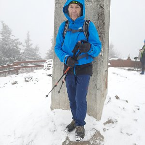 MUDr.Svatopluk Kunčar na vrcholu Lysá hora (25.12.2020 12:35)