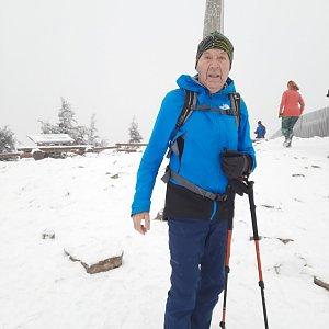 MUDr.Svatopluk Kunčar na vrcholu Lysá hora (26.12.2020 8:32)