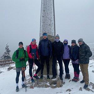 Dominika Turčeková na vrcholu Lysá hora (28.12.2020 10:50)