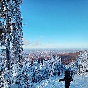 Milan Meravy na vrcholu Lysá hora (29.12.2020 12:15)