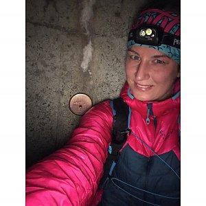 Dominika Turčeková na vrcholu Lysá hora (31.12.2020 19:00)